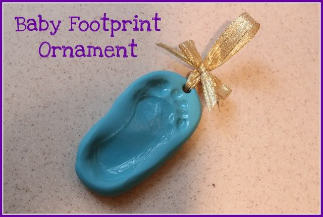 Footprint Ornament